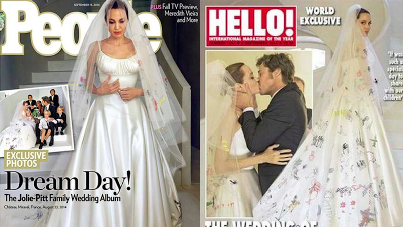 Illustration for article titled The Most Syrupy Sweet Moments of the Brangelina Wedding, Ranked