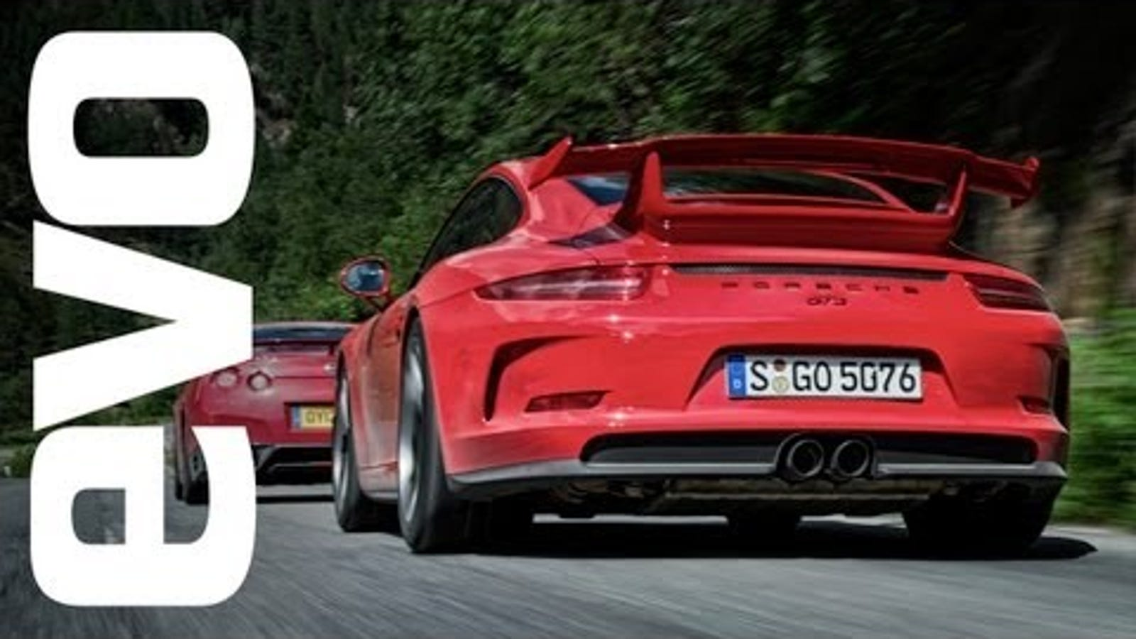 Watch The New Porsche 911 GT3 Take On Its Rivals In An Epic Battle