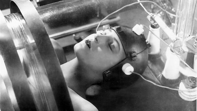 Brigitte Helm in Fritz Lang's 1927 Metropolis. Image: Kino Lorber