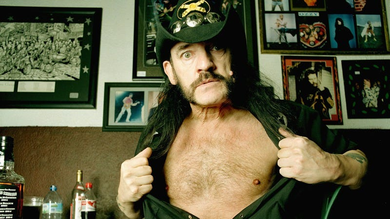 Lemmy in his mammalian form. (Photo: Eamonn McCabe / Getty Images)