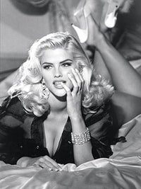 Illustration for article titled Less-Than-Classy Anna Nicole Memorial Unveiled At Grave Site
