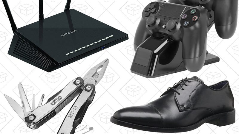 Illustration for article titled Today's Best Deals: Dress Shoes, Lucky Brand Clothing, $9 Multitool, and More