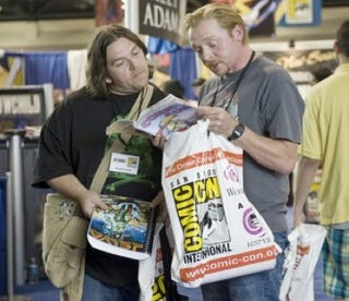 Illustration for article titled Simon Pegg and Nick Frost's alien road trip lands at Comic Con