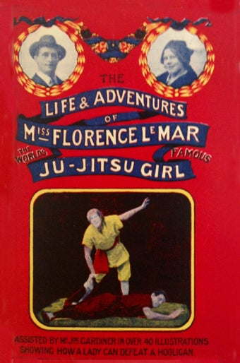 """Illustration for article titled Was """"Ju-jitsu Girl"""" the first ever super-heroine?"""