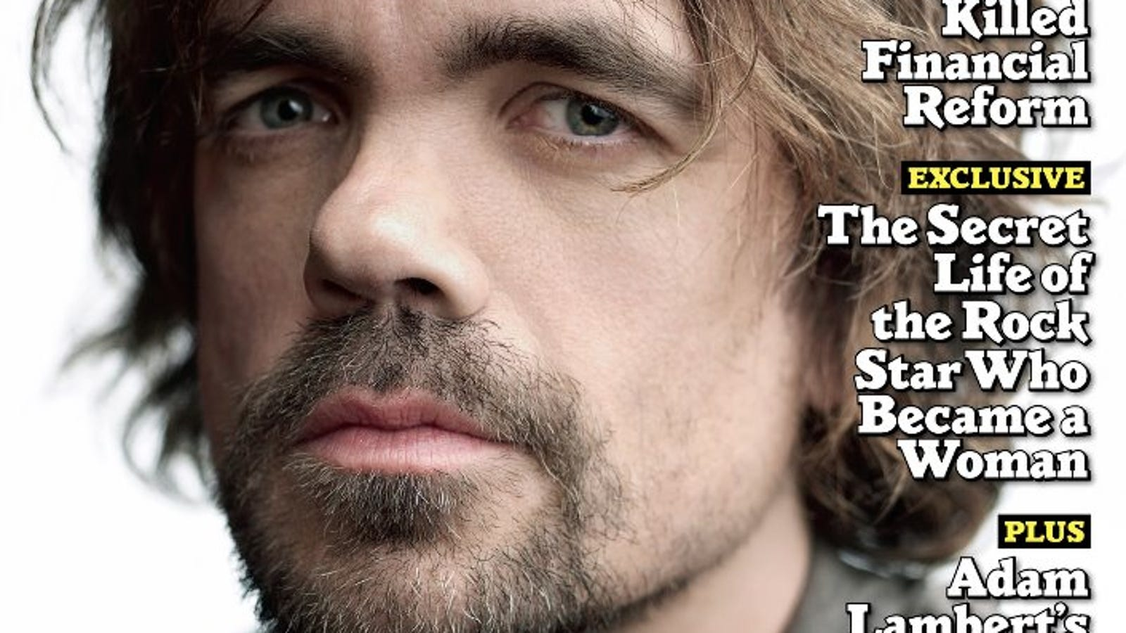 rolling stone crowns peter dinklage   rock star