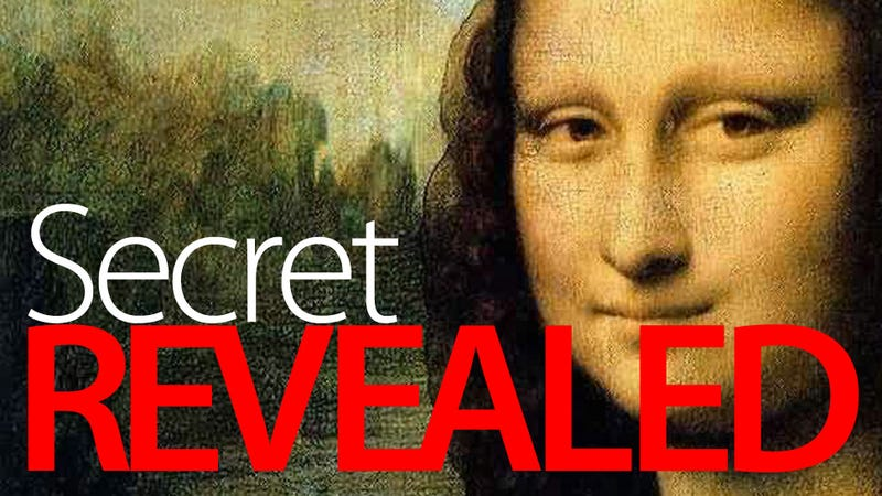 Illustration for article titled The Real Da Vinci Code Discovered In Mona Lisa's Eyes