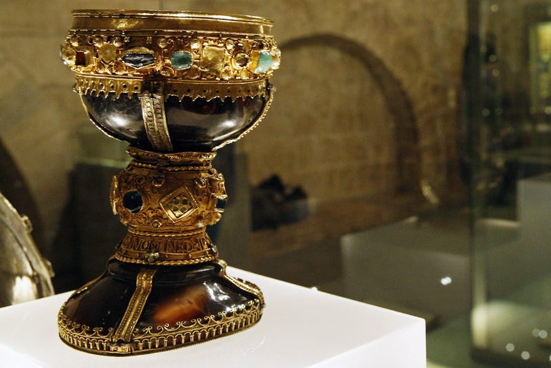 Illustration for article titled Could This Precious Goblet Really Be The Holy Grail?