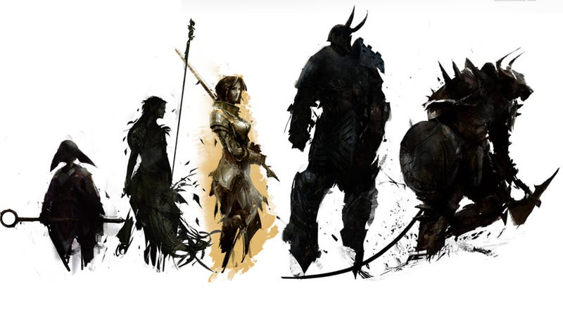 Illustration for article titled In A World Full of Fantastic Fictions to Try, Guild Wars 2 Players Remain Fixated On Humans