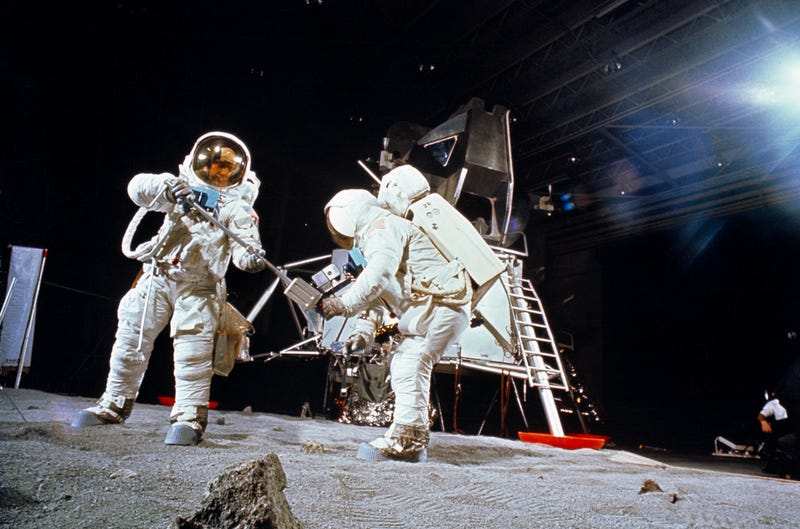 Real Apollo 11 Training Photos Look Like Prep For A Fake Moon Landing