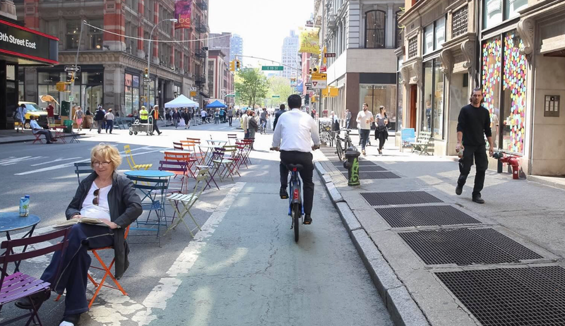 It would have looked just like this. (Image: Car Free NYC)