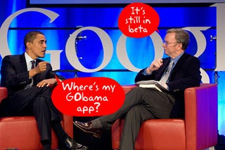 Illustration for article titled Google CEO Wants to Be President Obama's Tech Chief