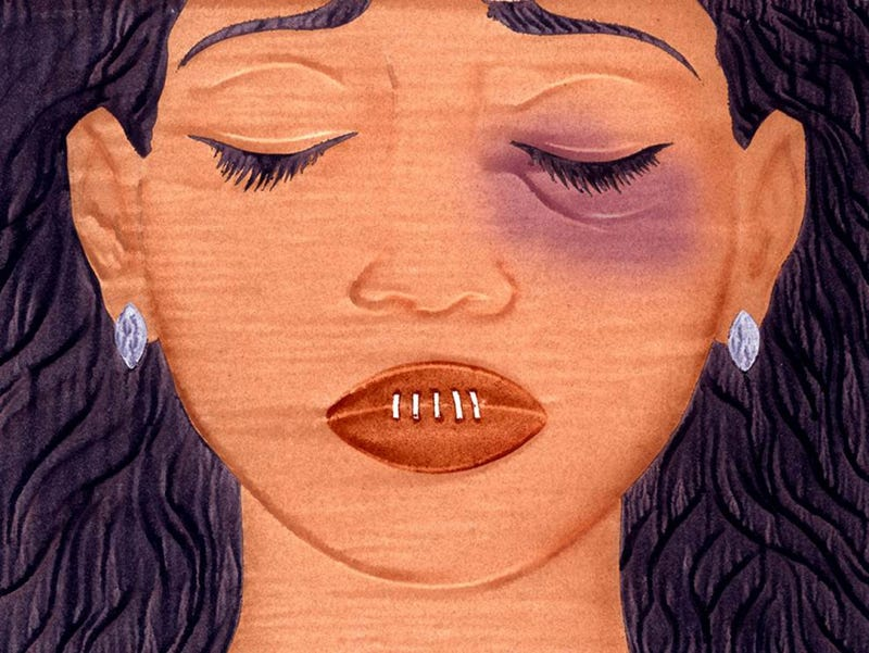 Illustration for article titled NFL pressured battered wives/gfs into silence?