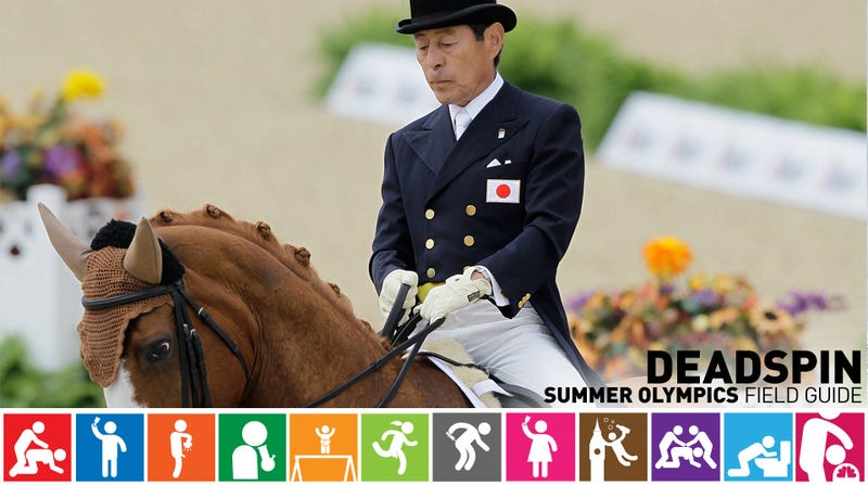Illustration for article titled Olympics Field Guide: Hiroshi Hoketsu, The 71-Year-Old Olympian