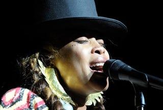Singer Erykah Badu