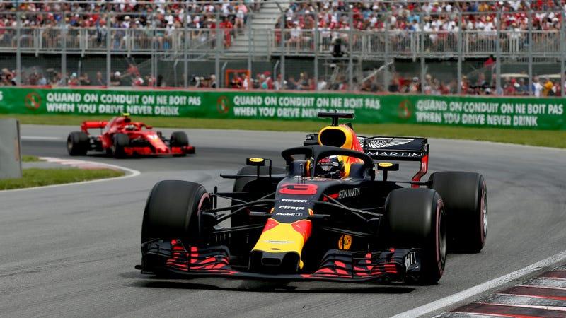 Red Bull driver Daniel Ricciardo at the Canadian Grand Prix.