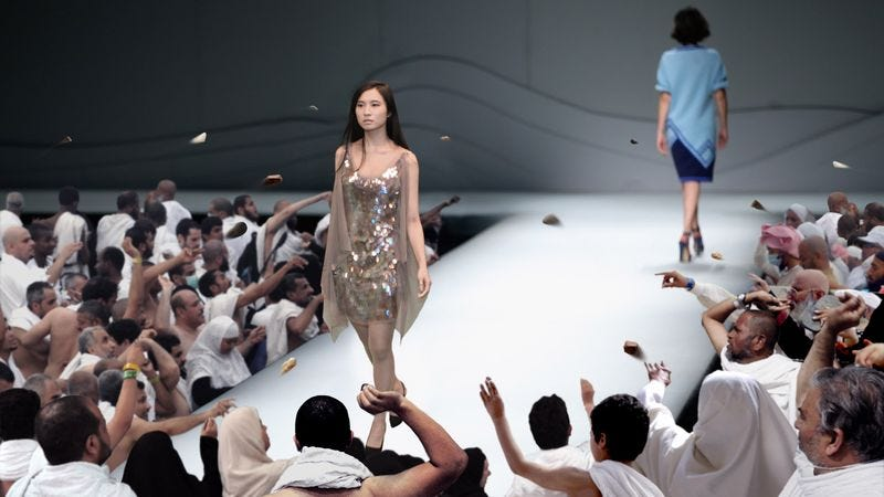 Stone-wielding attendees say this year's Riyadh Fashion Week was the most successful yet.