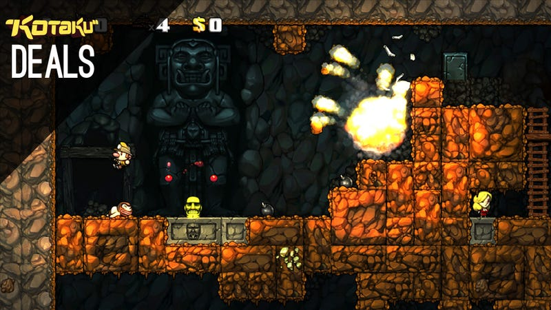 Illustration for article titled Spelunky For Under $4, 3DS XL Discounts, Game of Thrones [Deals]