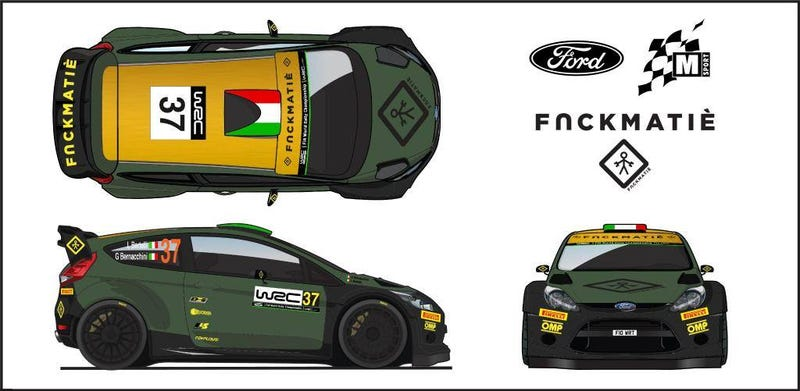 Illustration for article titled This is your new favorite WRC livery