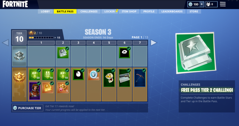 Fortnite Battle Royales 10 Battle Pass Is Nice But Not