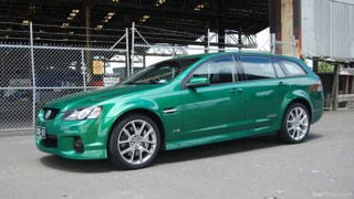 VE Holden Commodore SSV wagon,