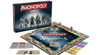 Illustration for article titled Assassin's Creed Monopoly Comes With Six Assassin Figures