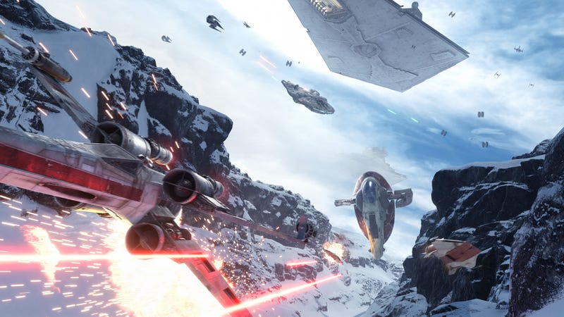 Illustration for article titled Seems Like EA Is Mostly Done Updating Star Wars Battlefront
