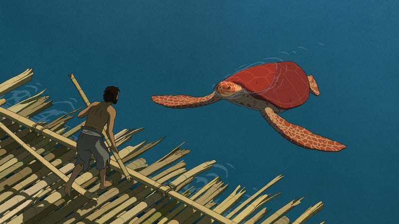 Illustration for article titled The Red Turtle is nominated to the Oscar