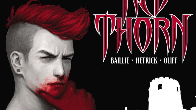 Illustration for article titled Exclusive Vertigo preview: Red Thorn builds a mystery around Scottish mythology