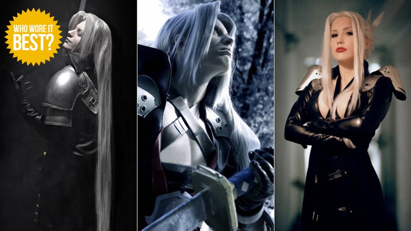 Illustration for article titled On Your Knees, I Want You To Beg for this Sephiroth Cosplay