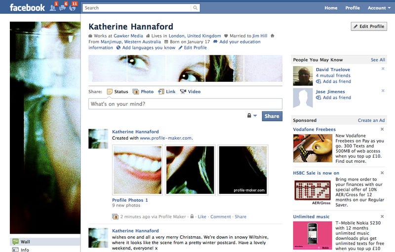 The Easiest Way to Hack Your Profile Page Design
