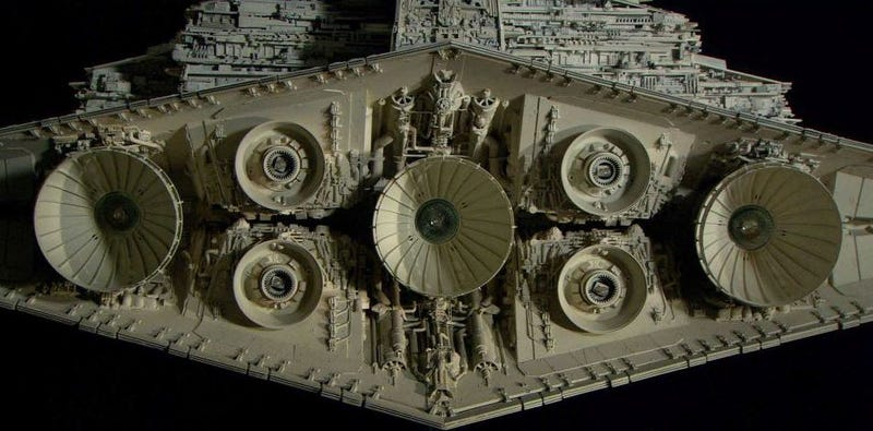 Illustration for article titled These Insanely Detailed Star Wars Models Are Truly Works of Art