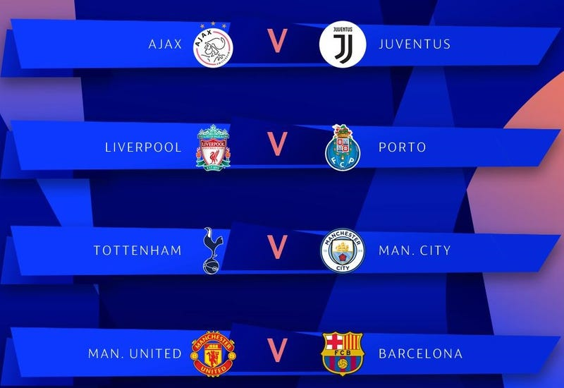 Here Is The Champions League Quarterfinals Draw [UPDATE]