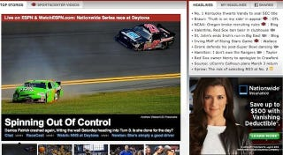Illustration for article titled Mishaps In Online Advertising: The Danica Patrick Edition
