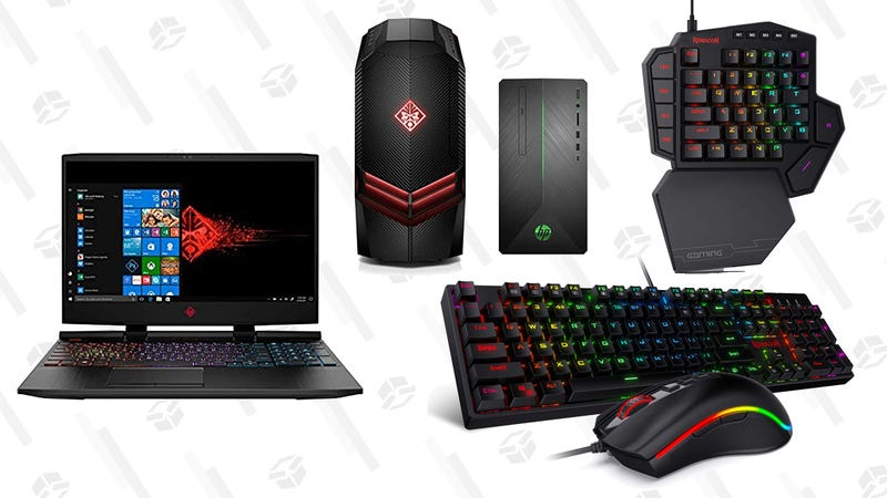 HP Gaming Computers and Redragon Accessory Gold Box | Amazon