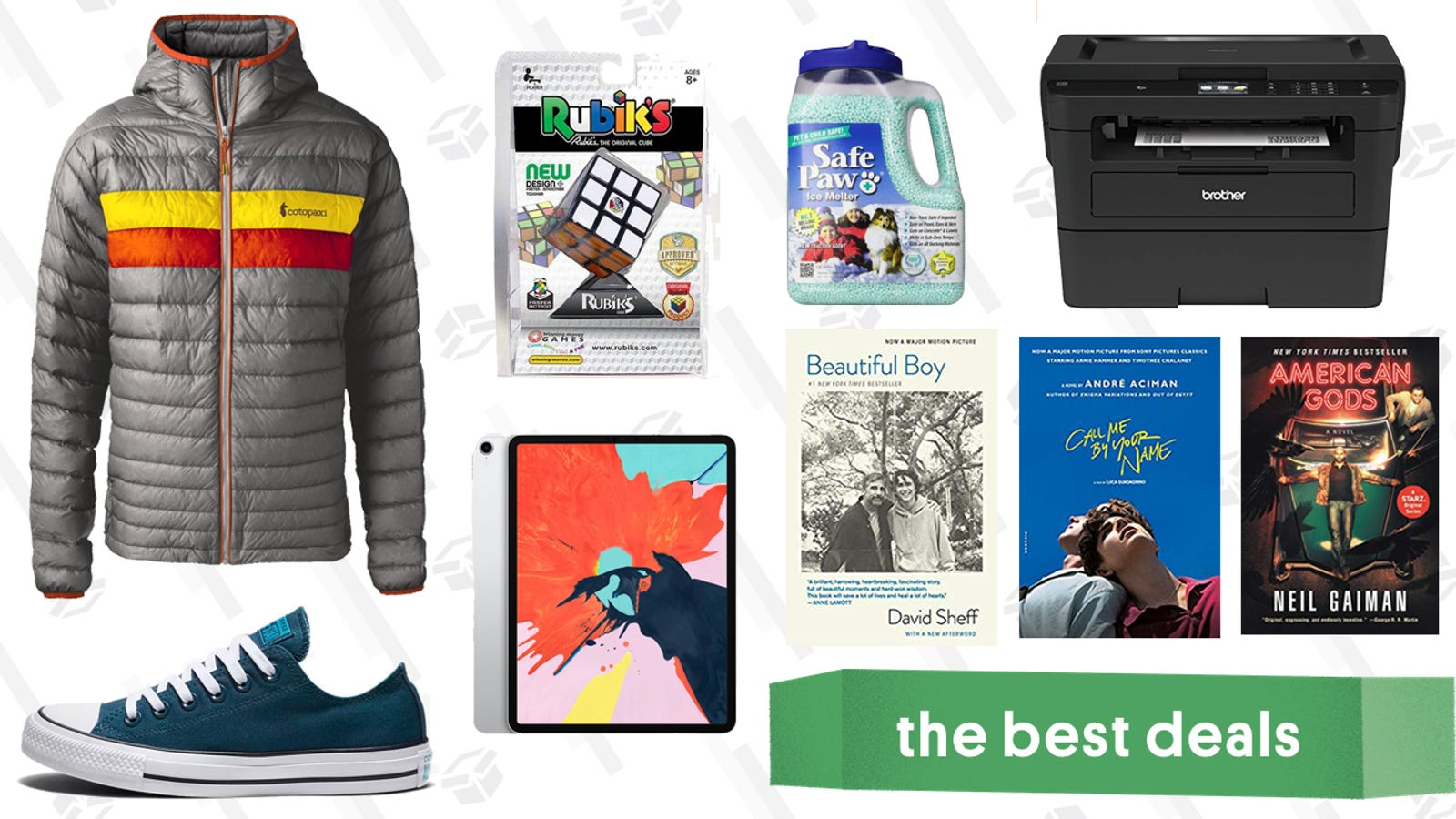 QnA VBage Sunday's Best Deals: iPad, Retinol Cream, Converse, and More