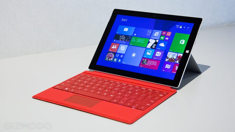 Illustration for article titled Microsoft Surface 3: Slim, Light, and Running Full-On Windows