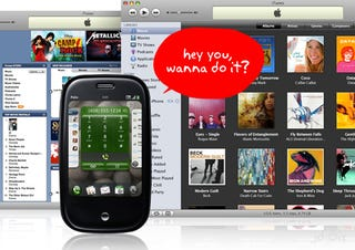 Illustration for article titled Apple Fine Print Warns That Palm Pre iTunes Syncing Could Die