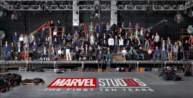 Illustration for article titled 10 años del Universo cinematográfico de Marvel resumidos en un vídeo espectacular