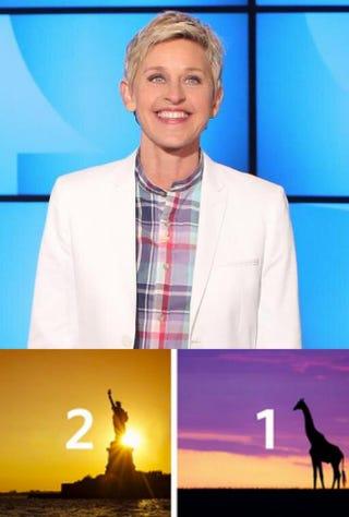 Ellen DeGeneres; image from Delta Air Lines' Twitter feedEllen DeGeneres/Twitter; Delta Air Lines/Twitter