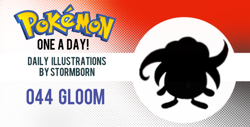 Illustration for article titled Let's take a look at Gloom!  Pokemon One a Day!