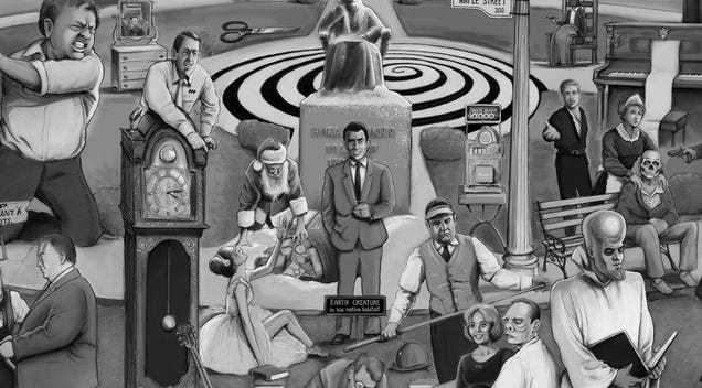 Can You Pick Out All the References in This Mega Twilight Zone Poster?