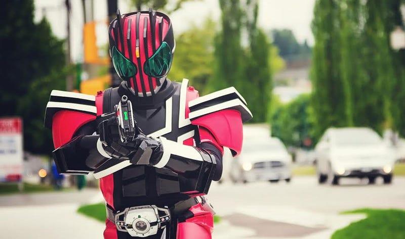Illustration for article titled Kamen Rider Rides Again