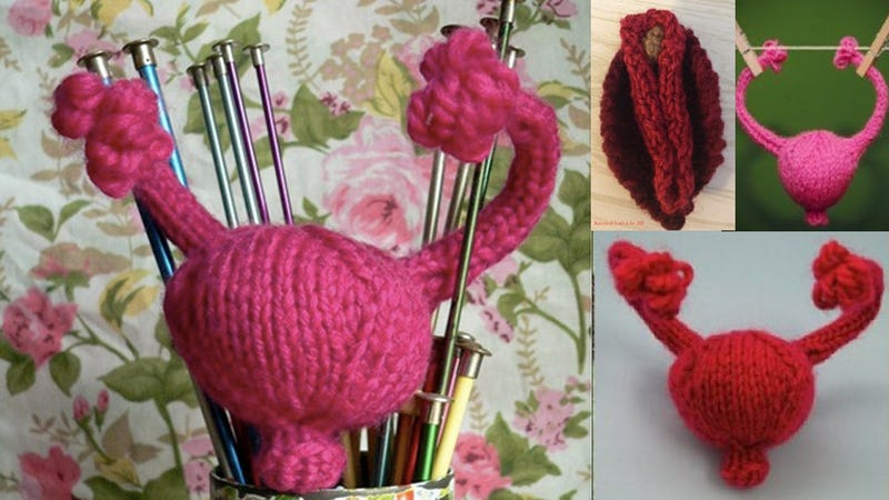 Knit a Uterus to Donate to a Congressman in Need