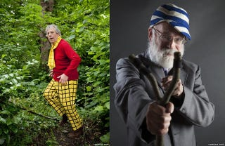Illustration for article titled Authors Convinced To Cosplay As Their Favorite Fictional Characters
