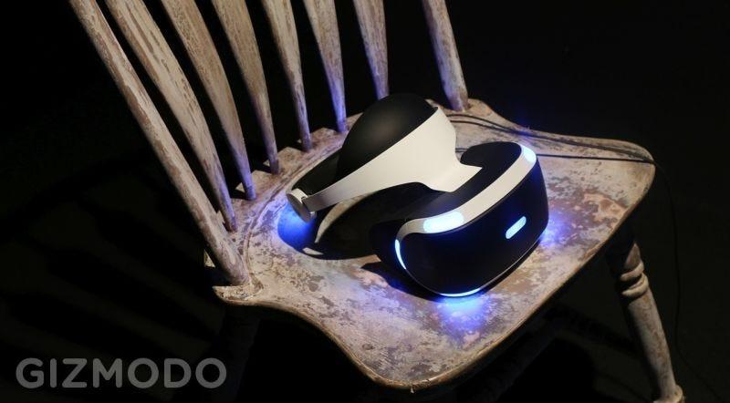Illustration for article titled PlayStation VR, la realidad virtual de Sony, llegará en octubre y costará 399 dólares/euros