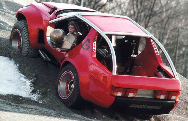 Monster Porsche Hurricane Concept Design: Concept Car Face-Off: Sbarro Monster G Vs. Jeep Hurricane