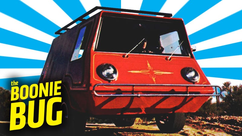 Illustration for article titled Meet The Boonie Bug, The DIY Van At Home In The Wild Or On Mars