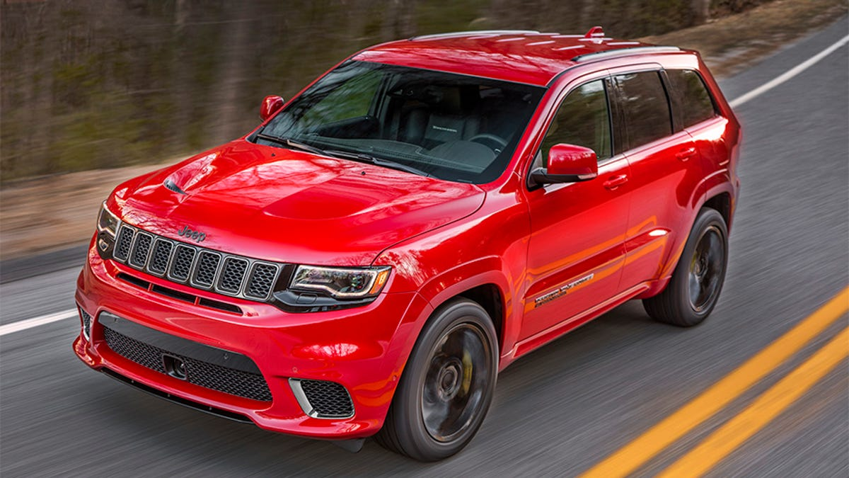 Srt8 2018 >> The Hellcat Powered 2018 Jeep Trackhawk Is Quicker 0 60 Than The