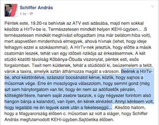 Illustration for article titled Így szívatta meg Schiffer Andrást a Hír Tv