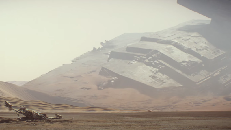 Illustration for article titled Speed Across Jakku in This Awesome Star Wars Virtual Reality Demo